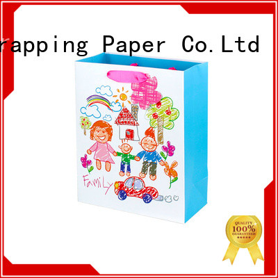 quality paper shopping bags factory price for advertising