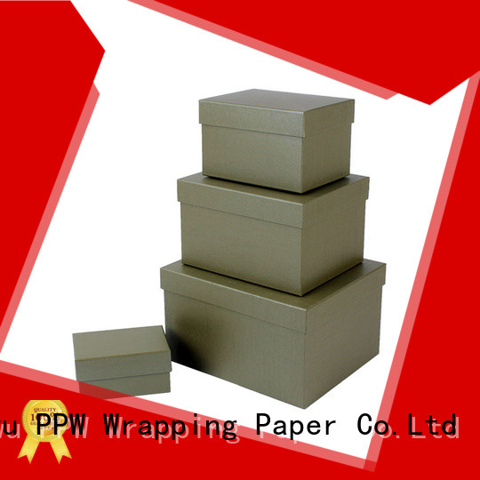 PPW cardboard gift boxes wholesale for Valentine