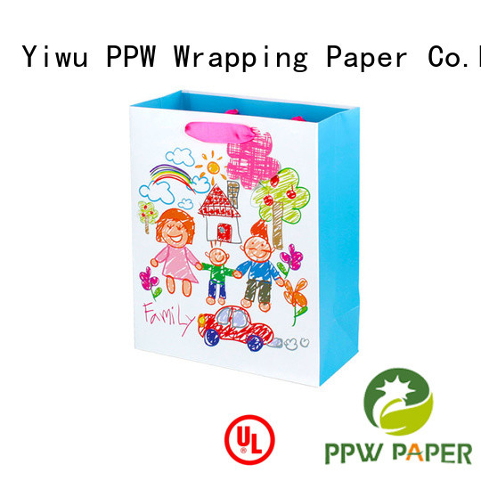 PPW paper bag supplier for wedding