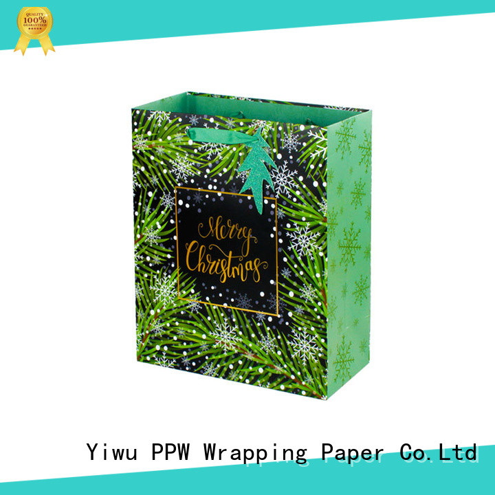 PPW custom paper bag personalized for advertising