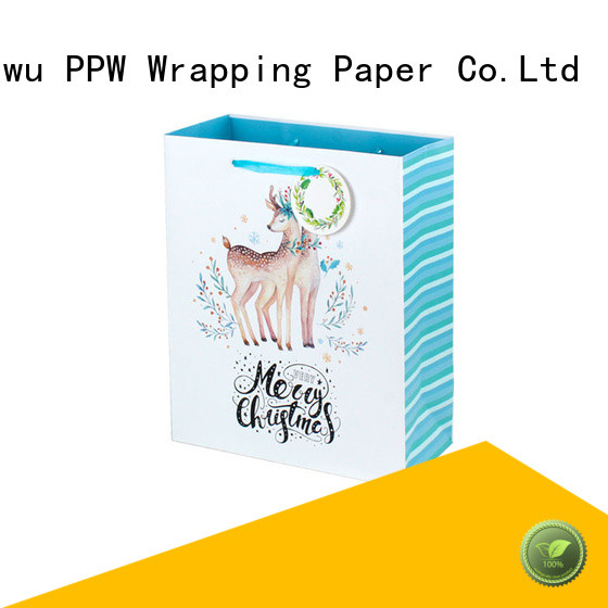 PPW popular custom paper bags factory price for wedding