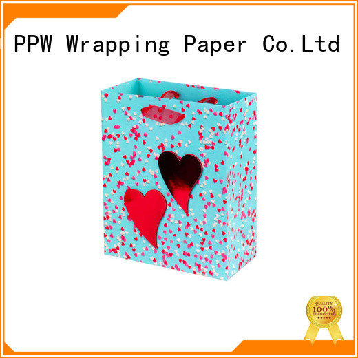 PPW popular small gift bags wholesale for birthday