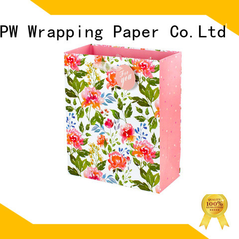 PPW small paper bags wholesale for advertising