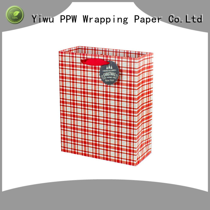PPW christmas bags personalized for advertising