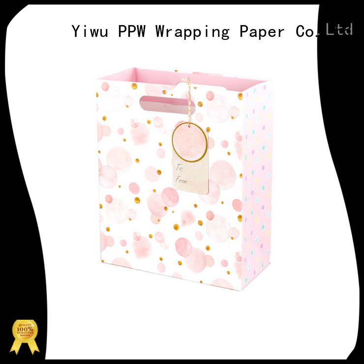 PPW professional large gift bags supplier for birthday