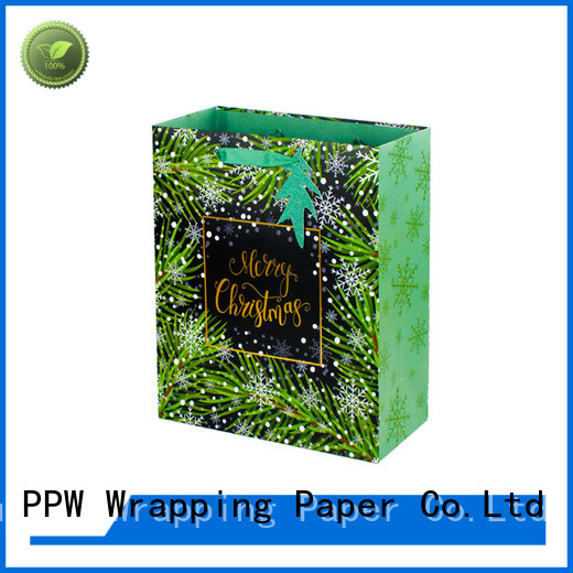 PPW christmas bags factory price