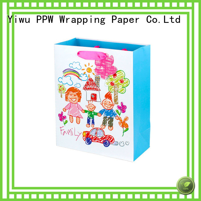 PPW small paper bags wholesale for birthday