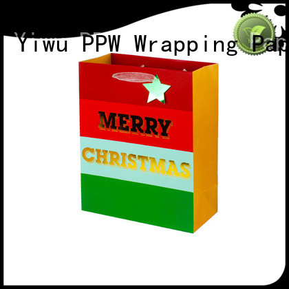PPW hot selling custom paper bags wholesale