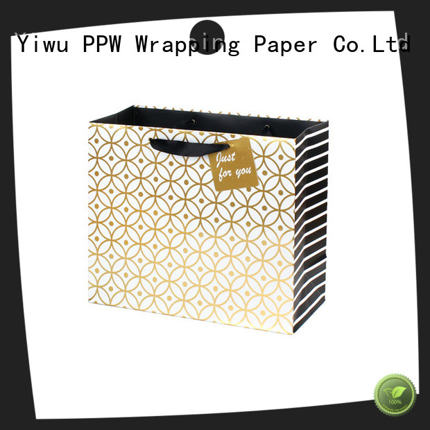 PPW paper party bags personalized for wedding