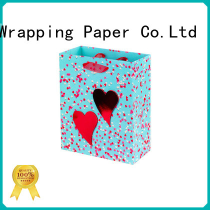 PPW paper bags with handles wholesale for birthday