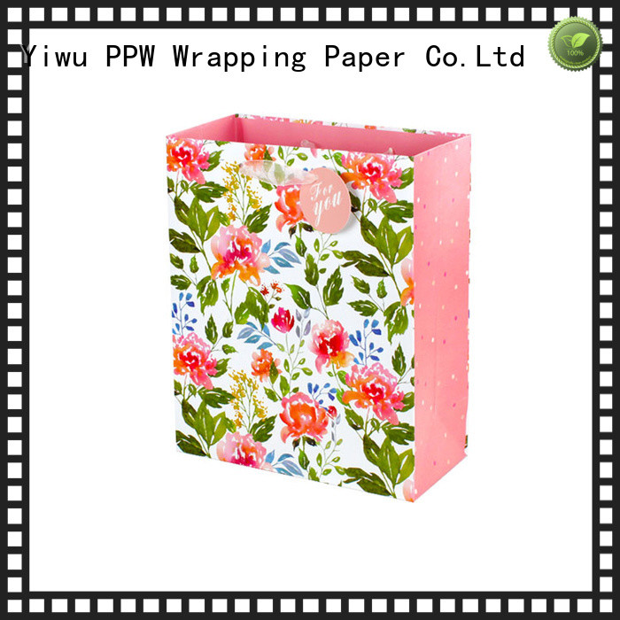 PPW popular packaging printing factory price for festival