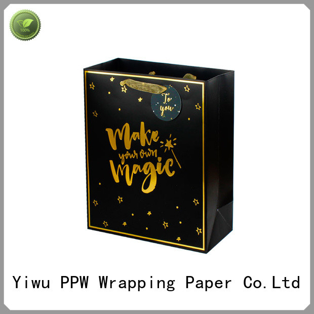 PPW hot selling kraft paper bags wholesale for wedding