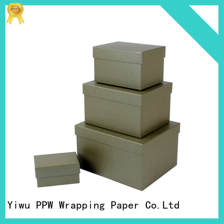 PPW custom gift boxes manufacturer for festival