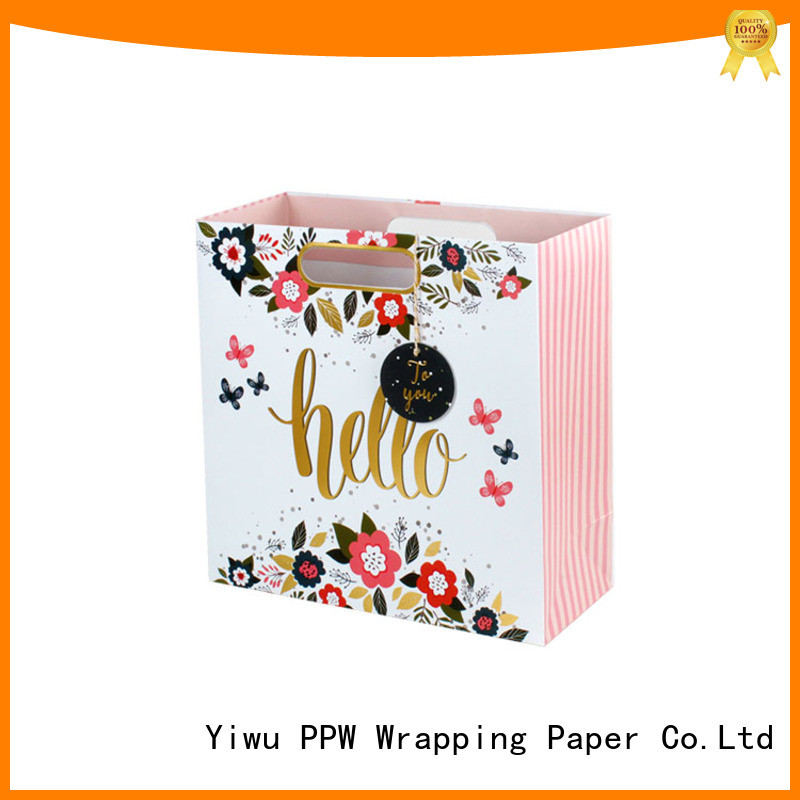 PPW large gift bags wholesale for advertising