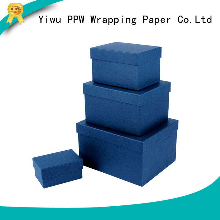 PPW gift card box manufacturer for Christmas