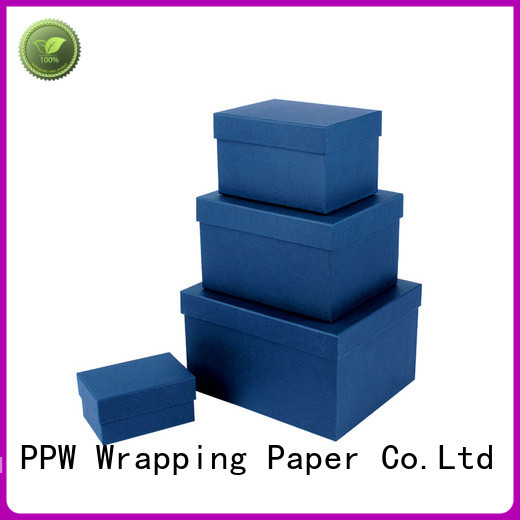 PPW gift box with lid manufacturer for Valentine