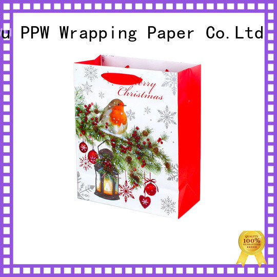 PPW christmas bags wholesale for advertising