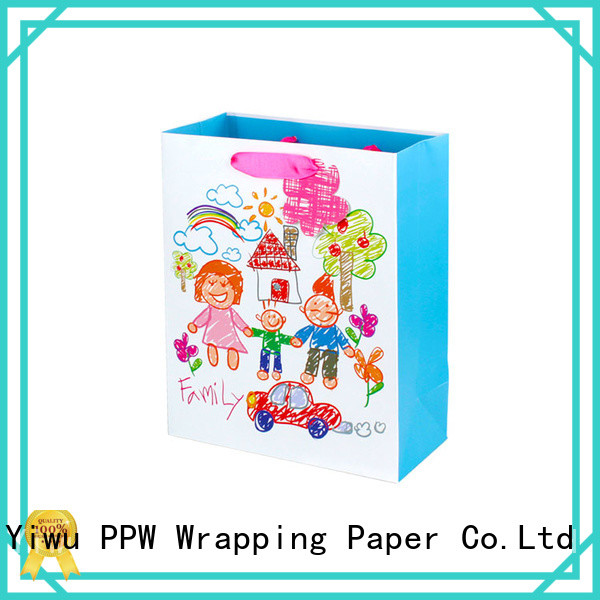 PPW quality personalised gift bags supplier for advertising