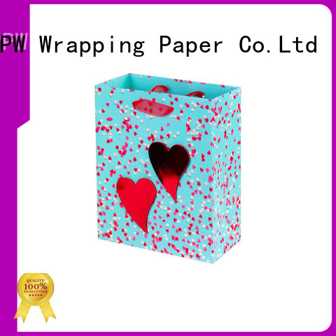 PPW hot selling paper shopping bags factory price for festival