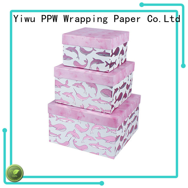 PPW custom print box supplier for Valentine