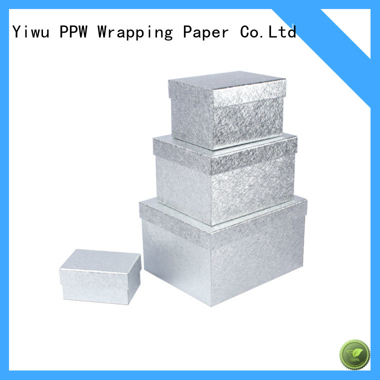 PPW gift card box supplier for birthday