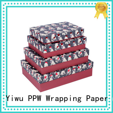 PPW cost-effective folding box supplier for birthday