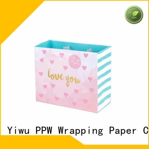 PPW quality gift bags bulk supplier for birthday
