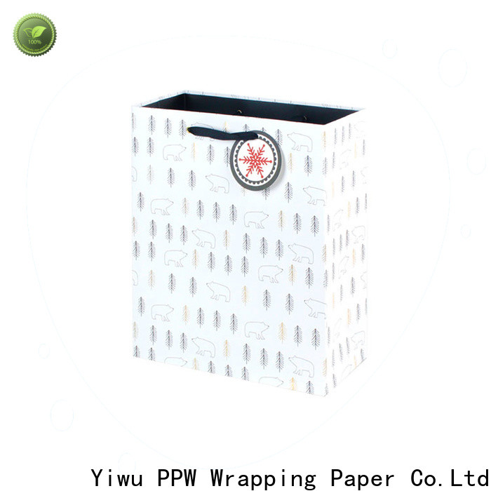 PPW hot selling small paper bags factory price for wedding