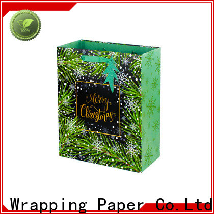 PPW paper bags with handles factory price for advertising