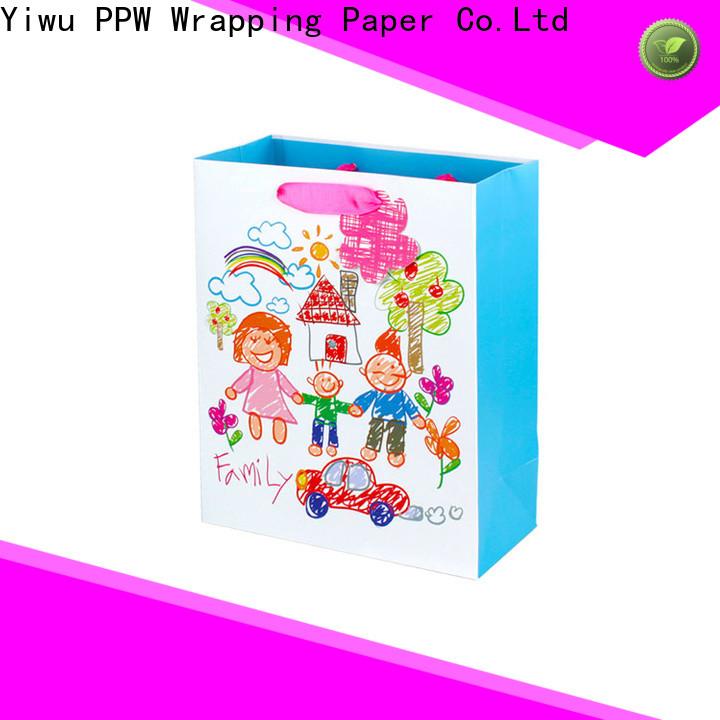 PPW gift bags bulk supplier for birthday