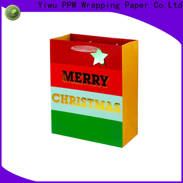 professional paper gift bags supplier for festival