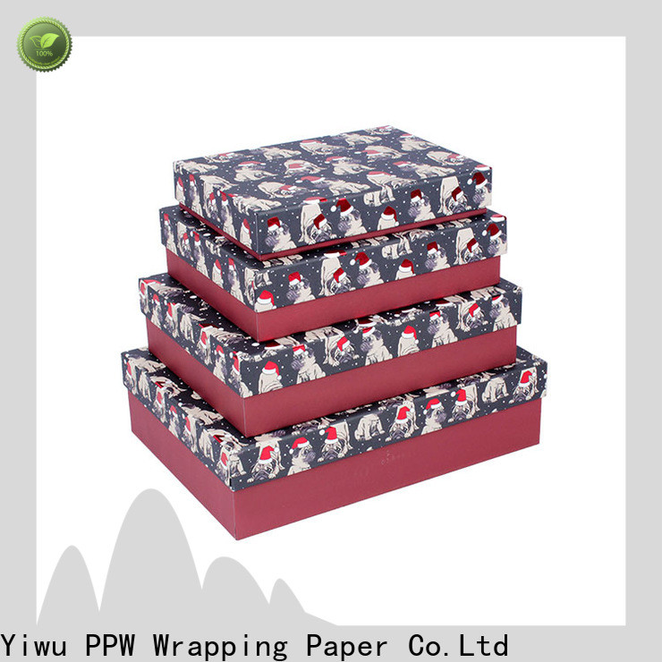 PPW eco-friendly custom packaging boxes on sale for Valentine