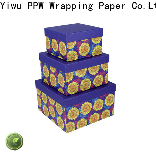 PPW folding box supplier for Valentine