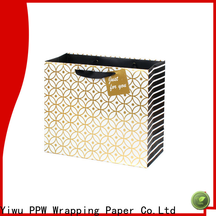 PPW large gift bags factory price for wedding