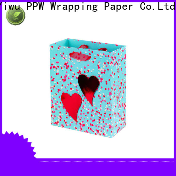 PPW custom paper bags wholesale for advertising