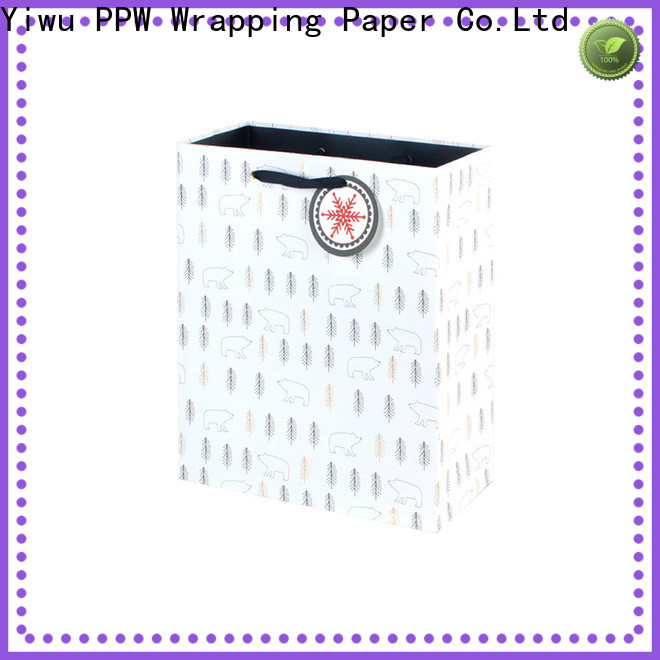 PPW professional custom paper bags wholesale for wedding