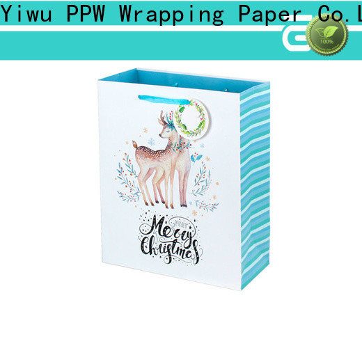 PPW paper gift bags personalized for wedding