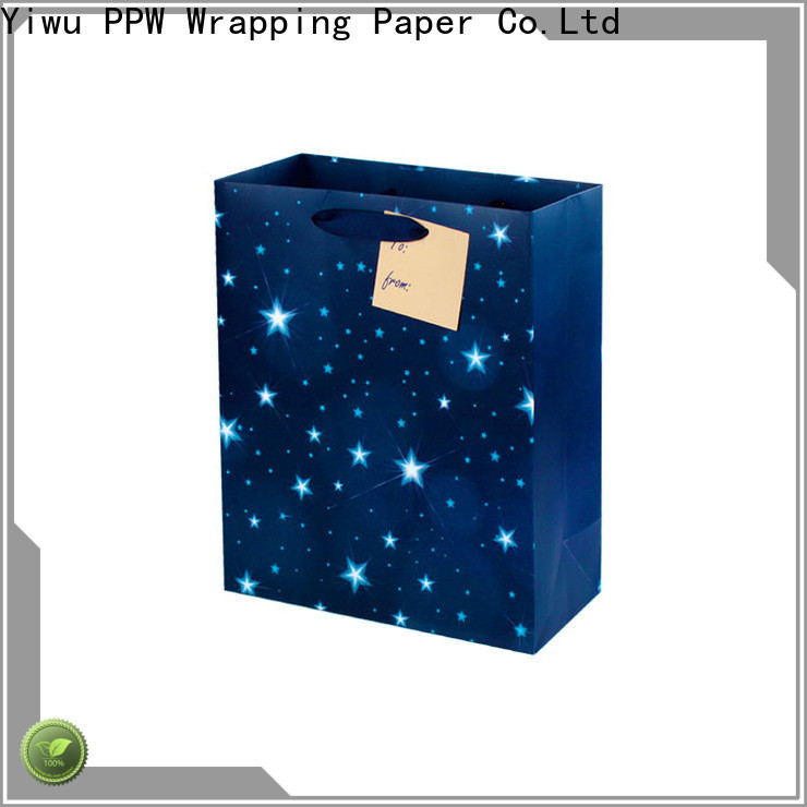 PPW custom gift bags wholesale