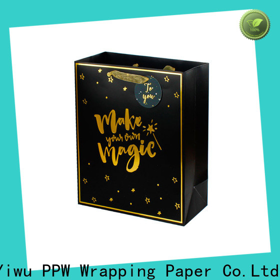 PPW quality paper bag personalized