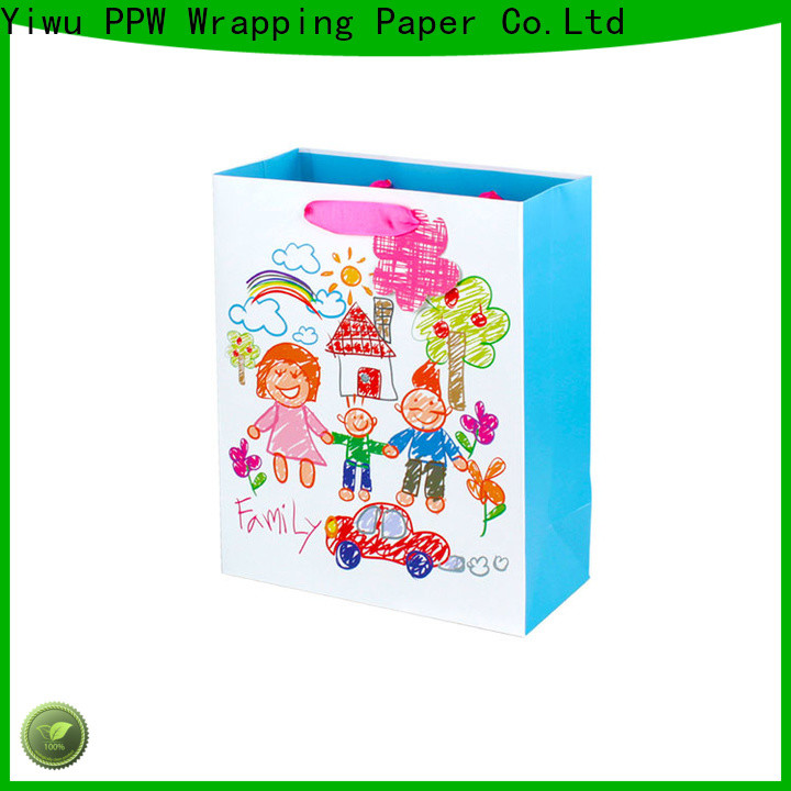 PPW popular personalised gift bags supplier