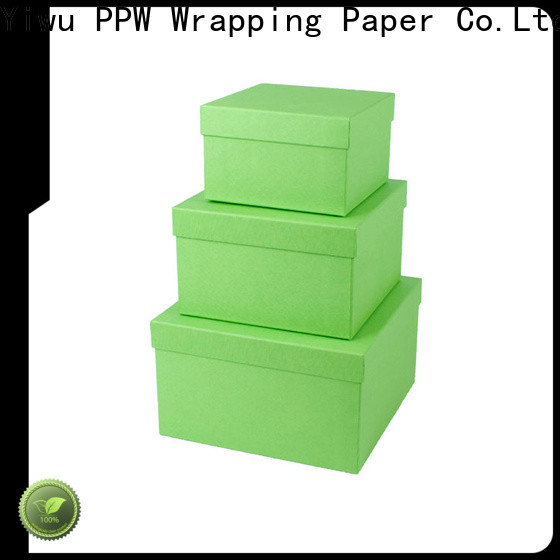 PPW cost-effective birthday gift box wholesale for Christmas