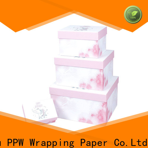 hot selling print box manufacturer for birthday