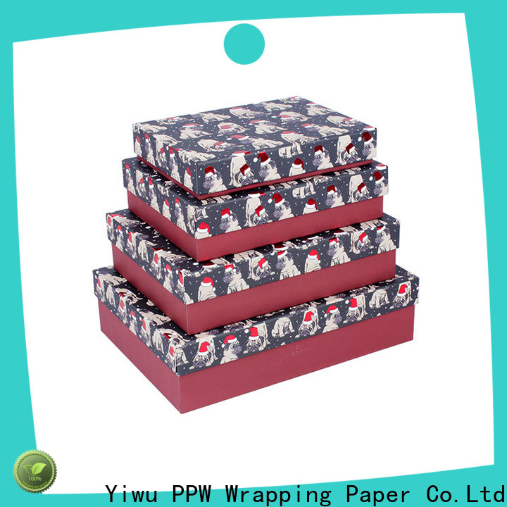 PPW custom gift card box wholesale for Valentine