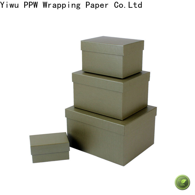 PPW birthday gift box manufacturer for festival