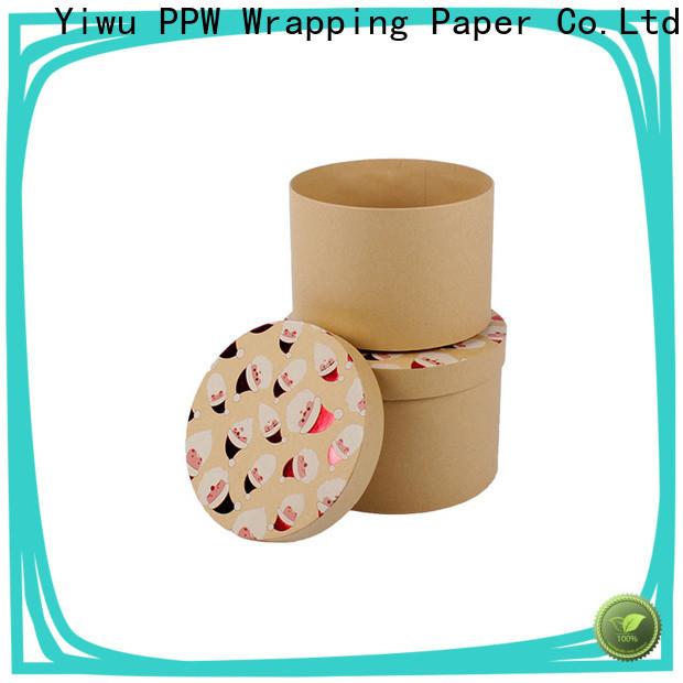 PPW custom packaging boxes supplier for festival