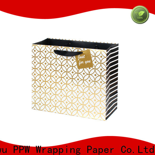 PPW kraft paper bags supplier for advertising