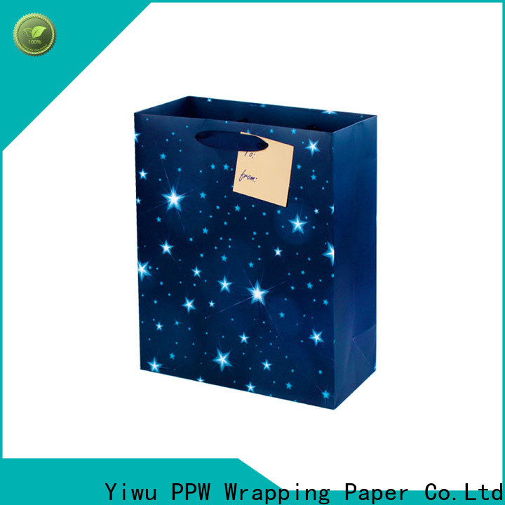 PPW popular paper bag personalized for birthday