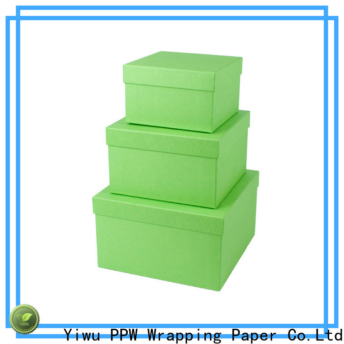 PPW custom packaging box supplier for birthday