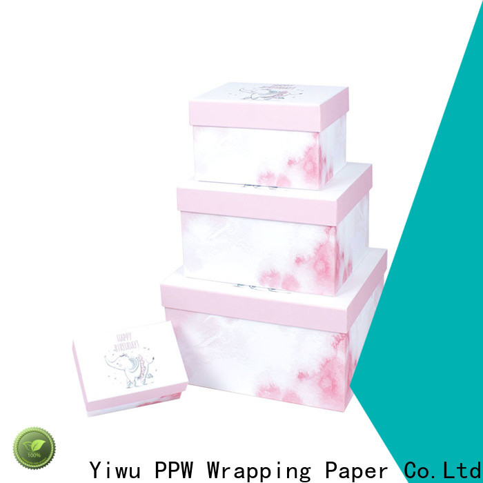 PPW hot selling custom packaging boxes manufacturer for Valentine