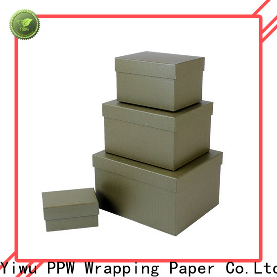 eco-friendly gift box with lid supplier for festival